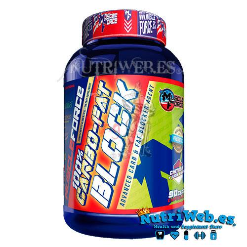 100% Carbo-Fat Block (90 cap) - Nutriweb