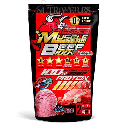 Muscle Foce, Super Muscle Beef 100% (907 gr)