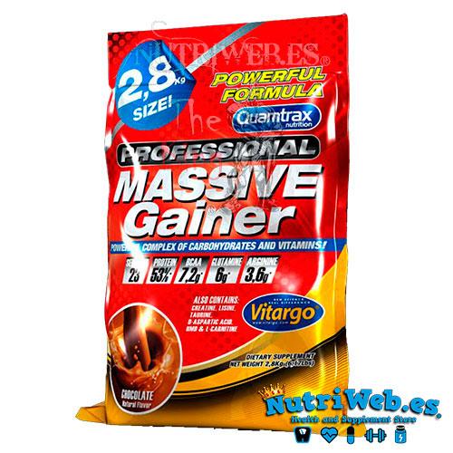 Massive Gainer profesional (2800 gr) - Nutriweb