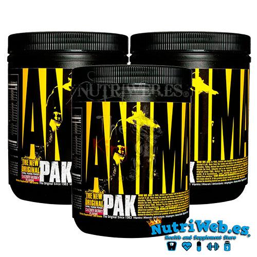 Animal Pak Powder - Cereza (3 uni x 99 gr) - Nutriweb