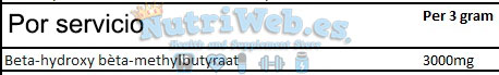 HMB (210 gr) - Nutriweb