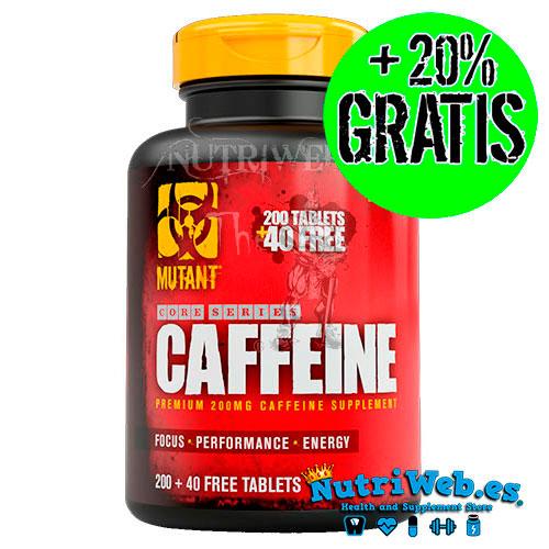 Mutant, Caffeine core series (200 tabs) + 40 tabs gratis (240 tabs)
