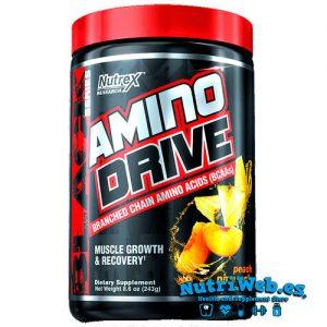 Nutrex, Amino Drive - Melocoton con Piña (243 gr)