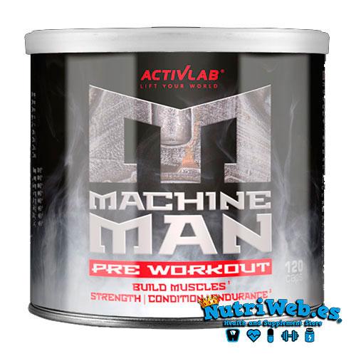 Machine man Pre-workout (120 cap) - Nutriweb