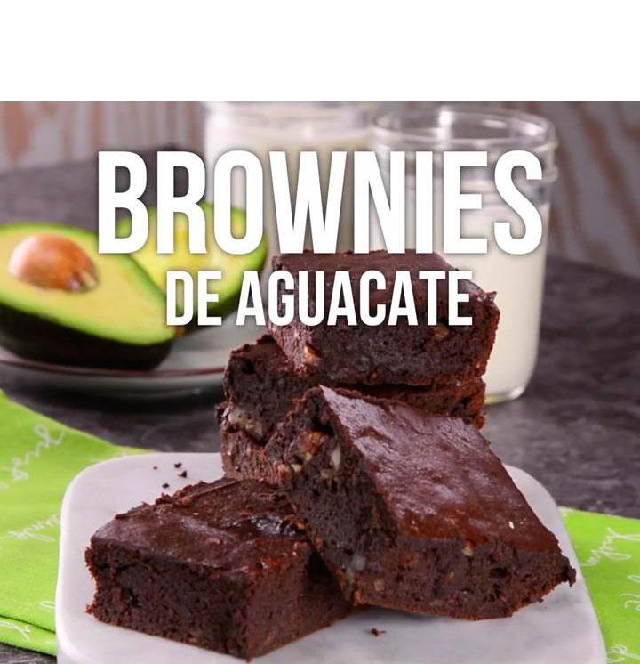 Brownies de Aguacate - Nutriweb