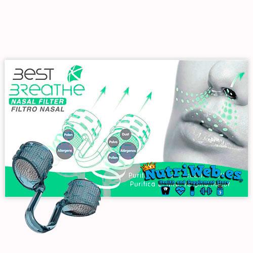 Best Breathe Filtro Nasal + 30 filtros de recambios - Nutriweb