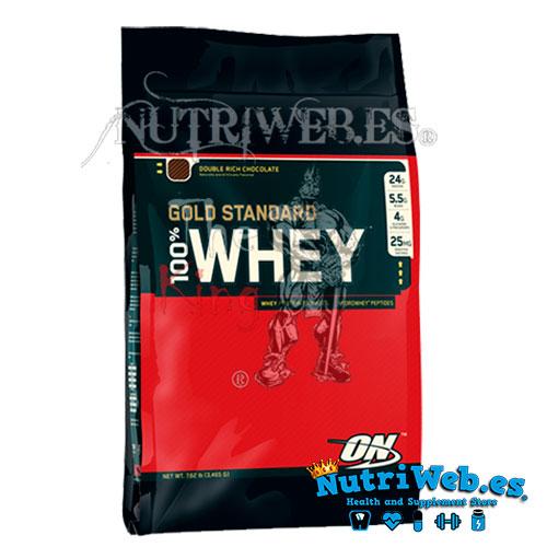 100% Whey Gold Standrar (4540 gr) - Nutriweb