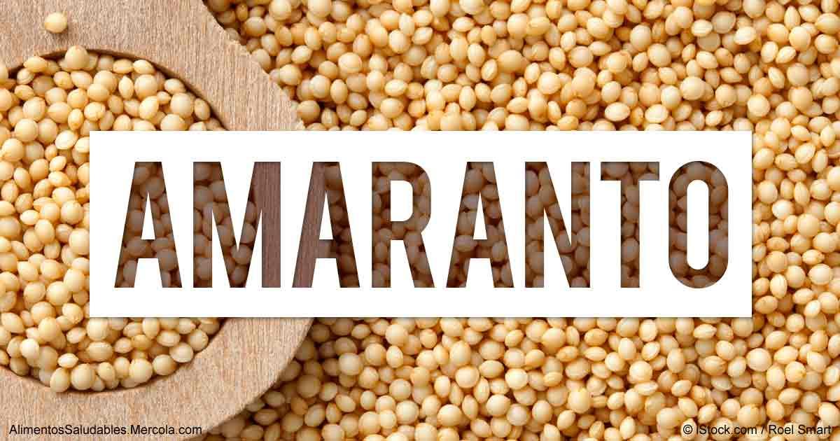 Amaranto, el superalimento ideal para adelgazar - Nutriweb
