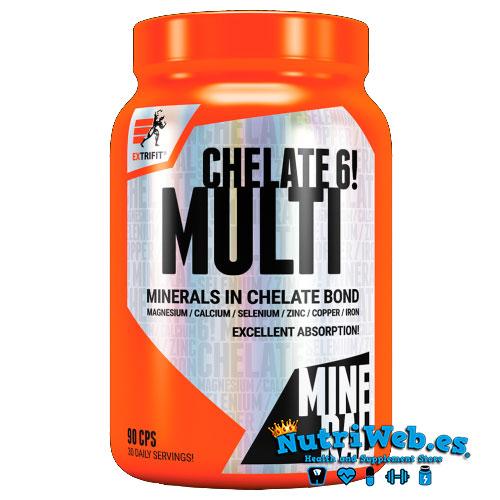 Chelate 6 multi (90 caps) - Nutriweb