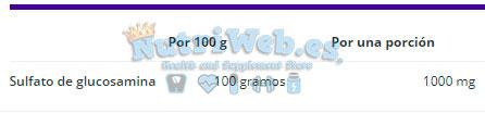 Glucosamine 1000 (90 tabs) - Nutriweb
