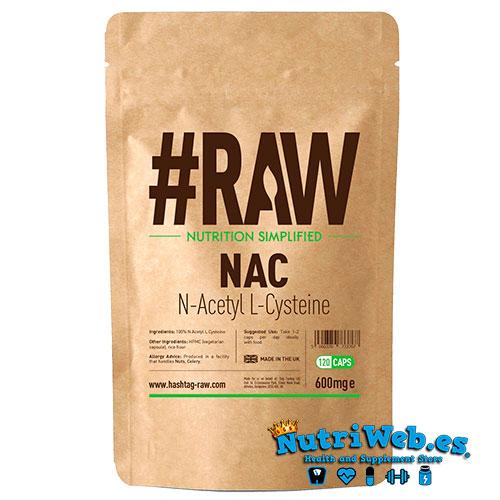 #RAW NAC N-Acetil L-Cisteína (120 caps) - Nutriweb
