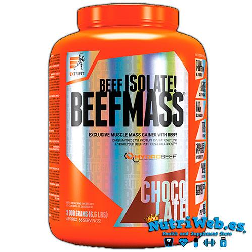 BeefMass (3000 gr) - Nutriweb