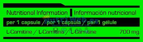 L-Carnitina NEO (120 caps) - Nutriweb
