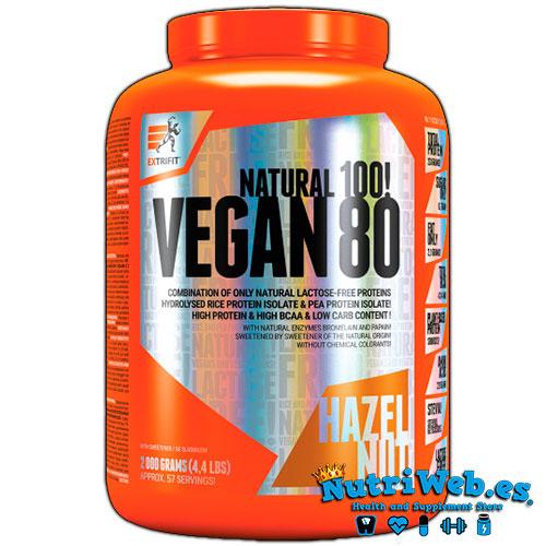 Vegan 80 (2000 gr) - Nutriweb