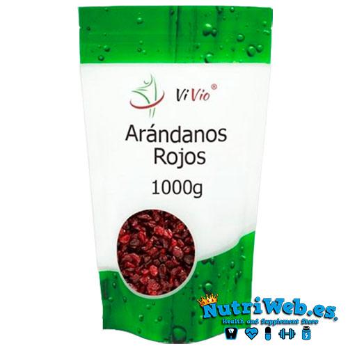 Arandanos rojos desecados (1000 gr) - Nutriweb