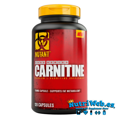 Carnitine Core (120 caps) - Nutriweb