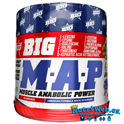 M.A.P Muscle Anabolic Power (250 tabs) - Nutriweb