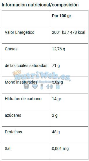 Protein Crunchy de Quamtrax (500 gr) - Nutriweb