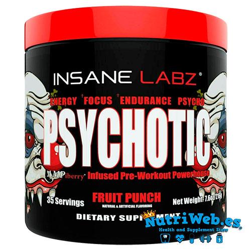 Insane Labz Psychotic 216g - Nutriweb