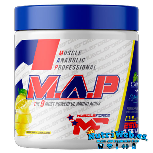 Muscle Anabolic Professional – MAP (250 gr) - Nutriweb