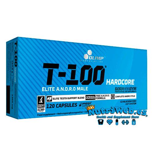 T-100® Hardcore (120 megacap) - Nutriweb