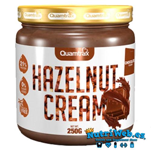 Hazelnut cream - Chocolate negro (250 gr) - Nutriweb