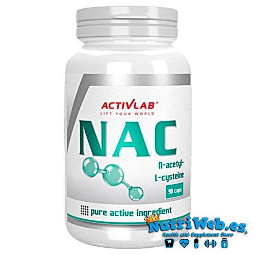 NAC, N-acetil L-Cisteina (90 cap) - Nutriweb