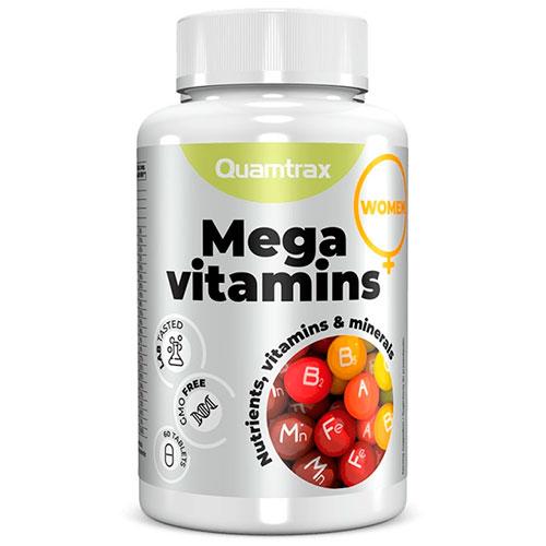 Mega Vitamins for Women (60 tabs) - Nutriweb