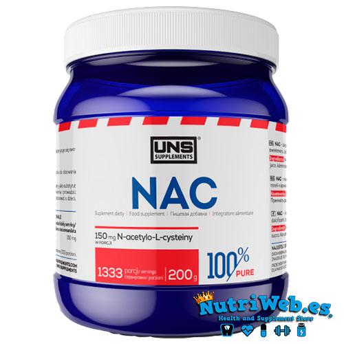 N-acetil Cisteína (NAC) (200 gr) - Nutriweb