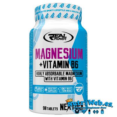 Magnesio + Vit B6 (90 tabs) - Nutriweb