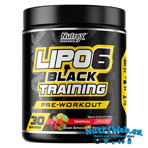 Lipo 6 Black™ Training (195 gr) - Nutriweb