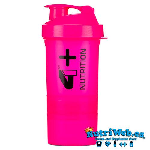 Smart Shaker Pink 4+Nutrition - Nutriweb