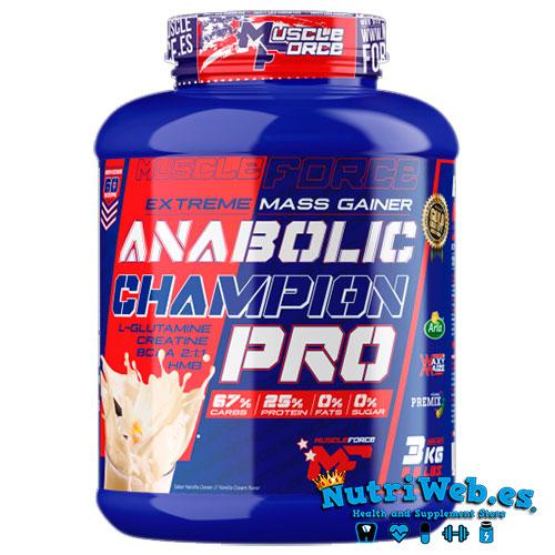 Anabolic Champion PRO (3000 gr) - Nutriweb