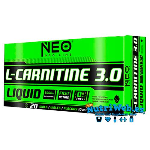 NEO L-Carnitine 3.0 (20 viales x 10 ml) - Nutriweb