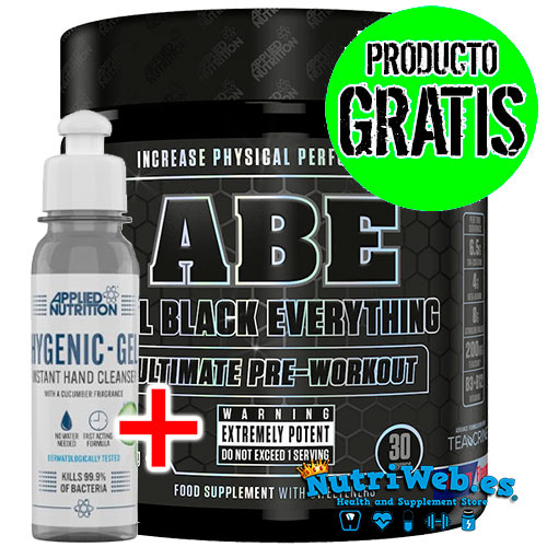 ABE Applied Nutrition (315 gr) + Hidrogel (100 mlt) - Nutriweb