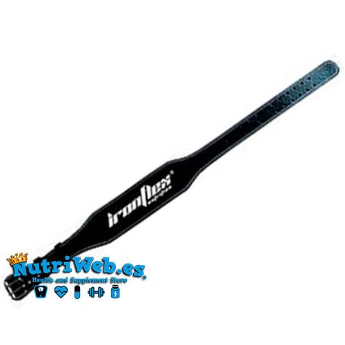 Cinturon de cuero IronFlex (Negro) - Nutriweb