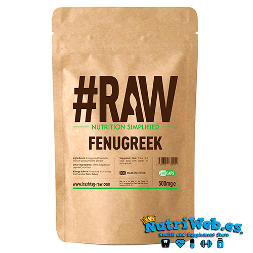 #RAW Fenogreco (240 cap) - Nutriweb