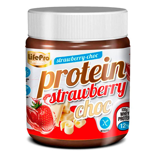 Crema proteica protein cream strawberry