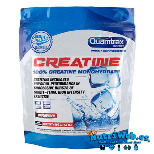 Quamtrax Creatina Monohidrato (500 gr) - Nutriweb