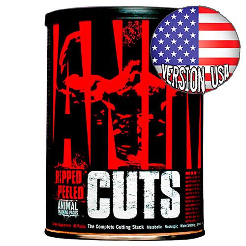 Quemador de grasa Animal Cuts - Versión USA (42 packs) - Nutriweb