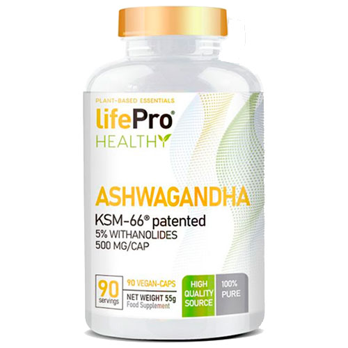 LifePro Ashwagandha KSM-66® (90 caps) - Nutriweb