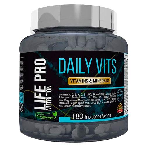 LifePro Nutrition Daily Vits (180 caps) - Nutriweb