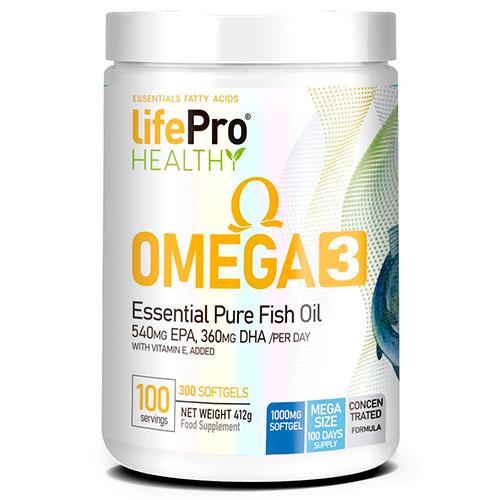 Life Pro Omega 3 (300 grageas) - Nutriweb