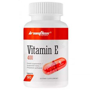 Vitamina E con 100 UI de IronFlex