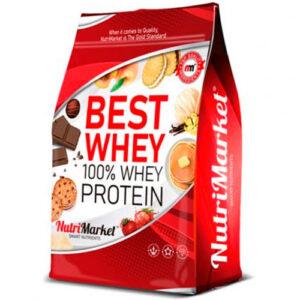Concentrado de proteína 100% Best de QXN - Nutrimarket (1000 gr)