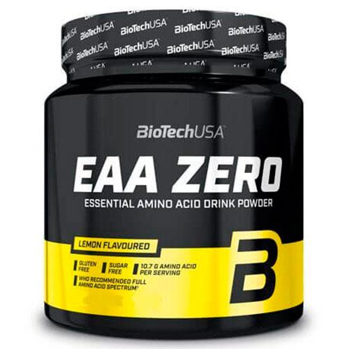 Bebida de aminoácidos esenciales EAA Zero de BiotechUSA (185 gr)