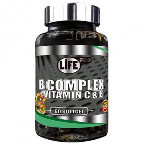 Suplemento vitamínico LifePro B Complex (60 grageas)