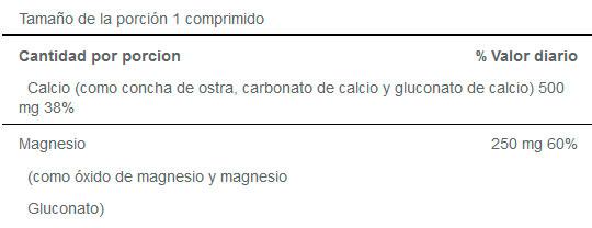 Calcio+Magnesio de Puritan's Pride (100 tabs) - Nutriweb