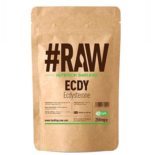 #RAW ECDY - Ecdysterone (120 Caps) - Nutriweb