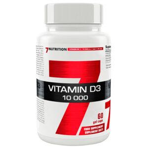 Vitamina D3 de 7Nutrition (60 grageas)